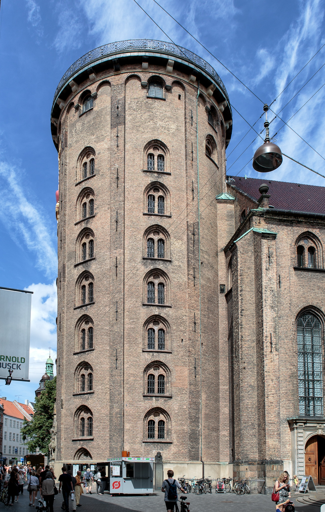 Turnul Rotund din oraşul Copenhaga
