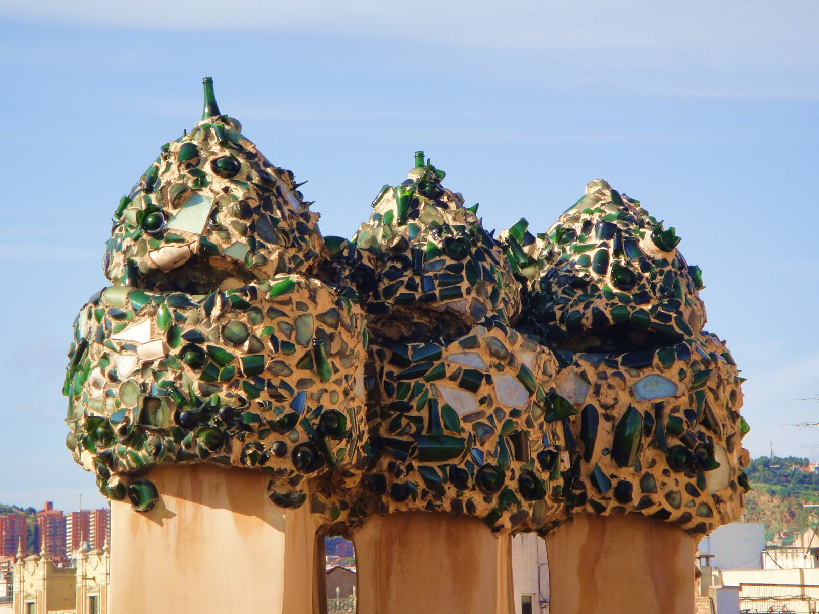 Detaliile subliniază încă o dată originalitatea lui Gaudi
