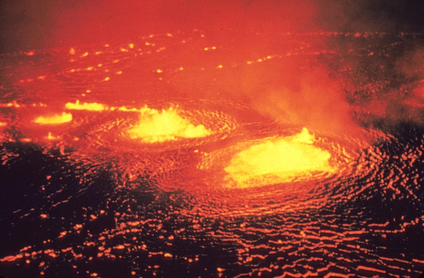 Vulcanul Kilauea, cel mai activ vulcan din lume