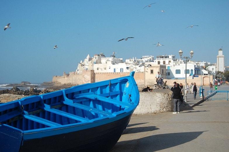 Essaouira seamănă izbitor cu Santorini