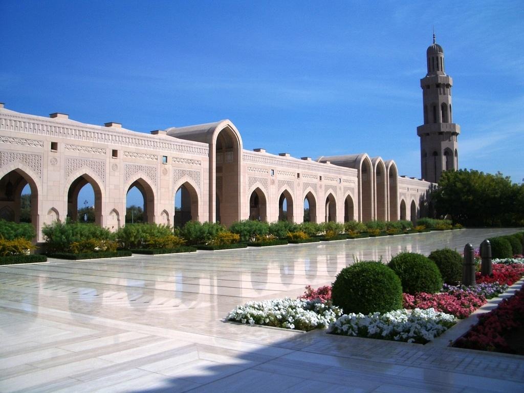 Exemplu de arhitectură islamică în Oman