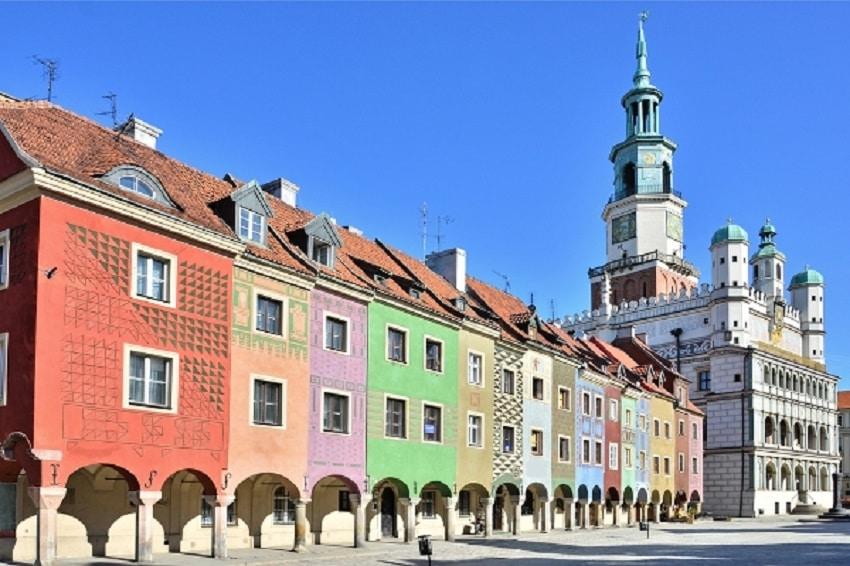 La plimbare prin centrul orașului Poznan, capitala regiunii Wielkopolska