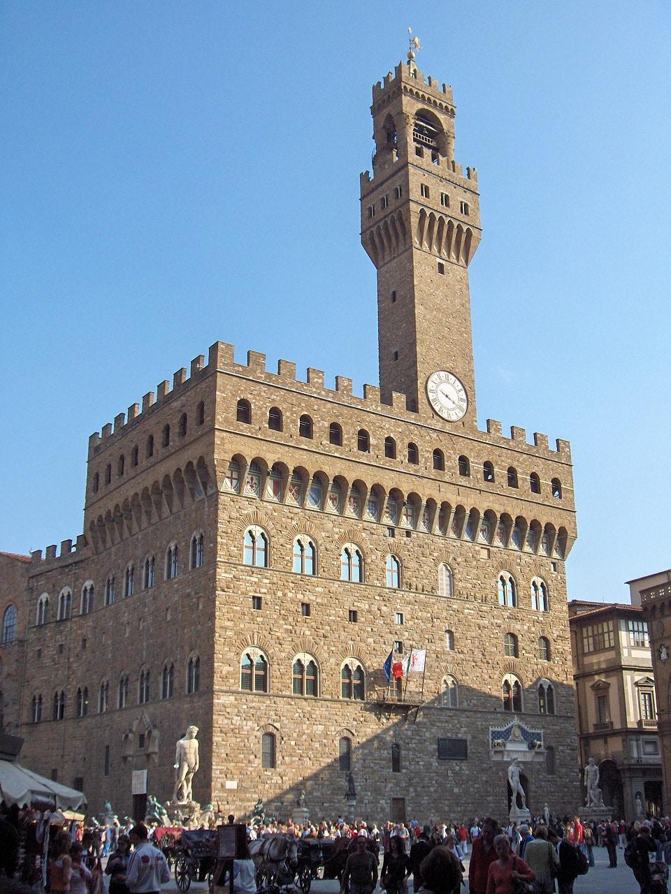 Palatul Vechi din Florența, sediul Primăriei orașului