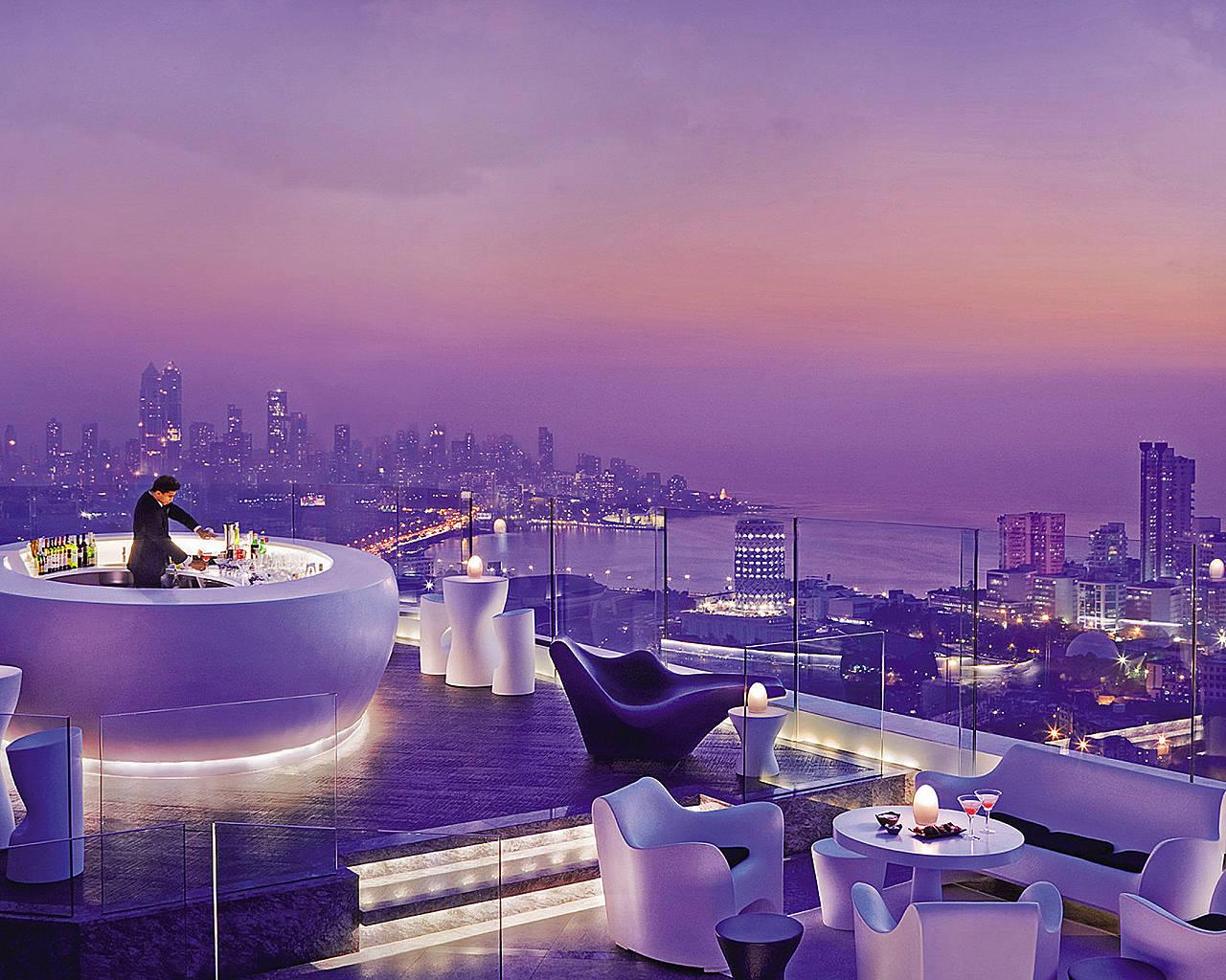 Hotelul Four Seasons. AER- cel mai înalt bar de pe acoperiș din Mumbai
