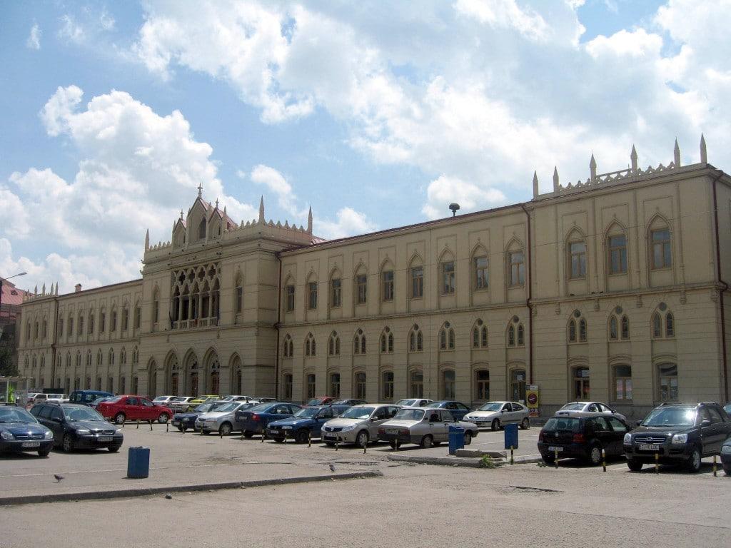 Gara din Iași, una dintre cele mai mari și mai frumoase din țară