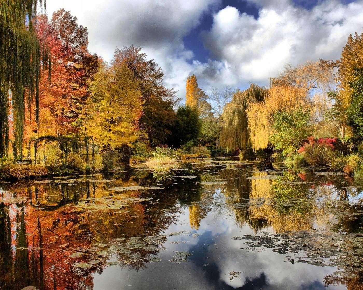 Giverny, într-o toamnă însorită