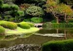 Grădinile Palatului Imperial sunt de o frumuseţe unică