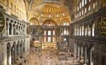 Vedere din interiorul Bisericii Sfânta Sofia