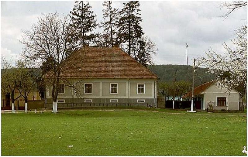 Casa cu numărul 14 din satul Șarlota, Timiș. Banat