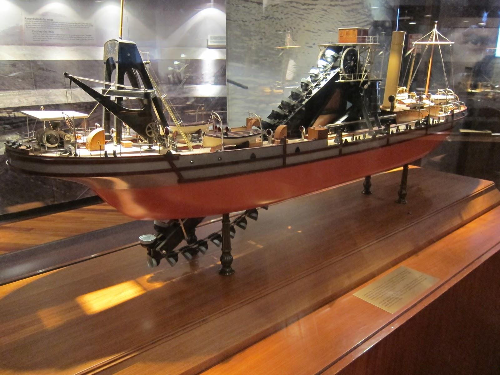 Exponat din Muzeul Canalul Panama