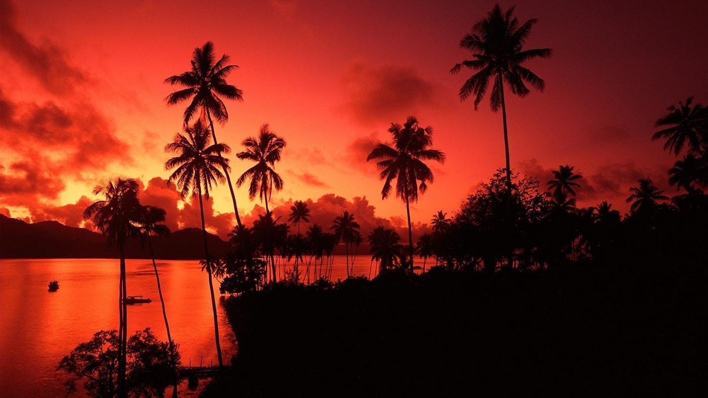 Insulele Fiji, un cadru romantic