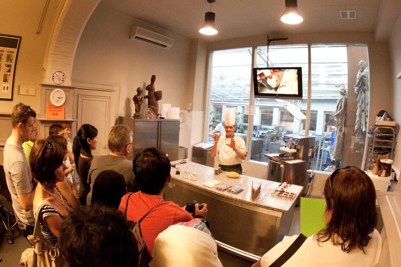 La Muzeul Ciocolateivei afla secretele ciocolatei belgiene