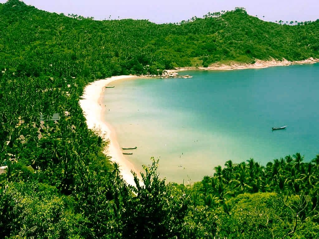 Ko Pha Ngan, o regiune cu vegetație luxuriantă