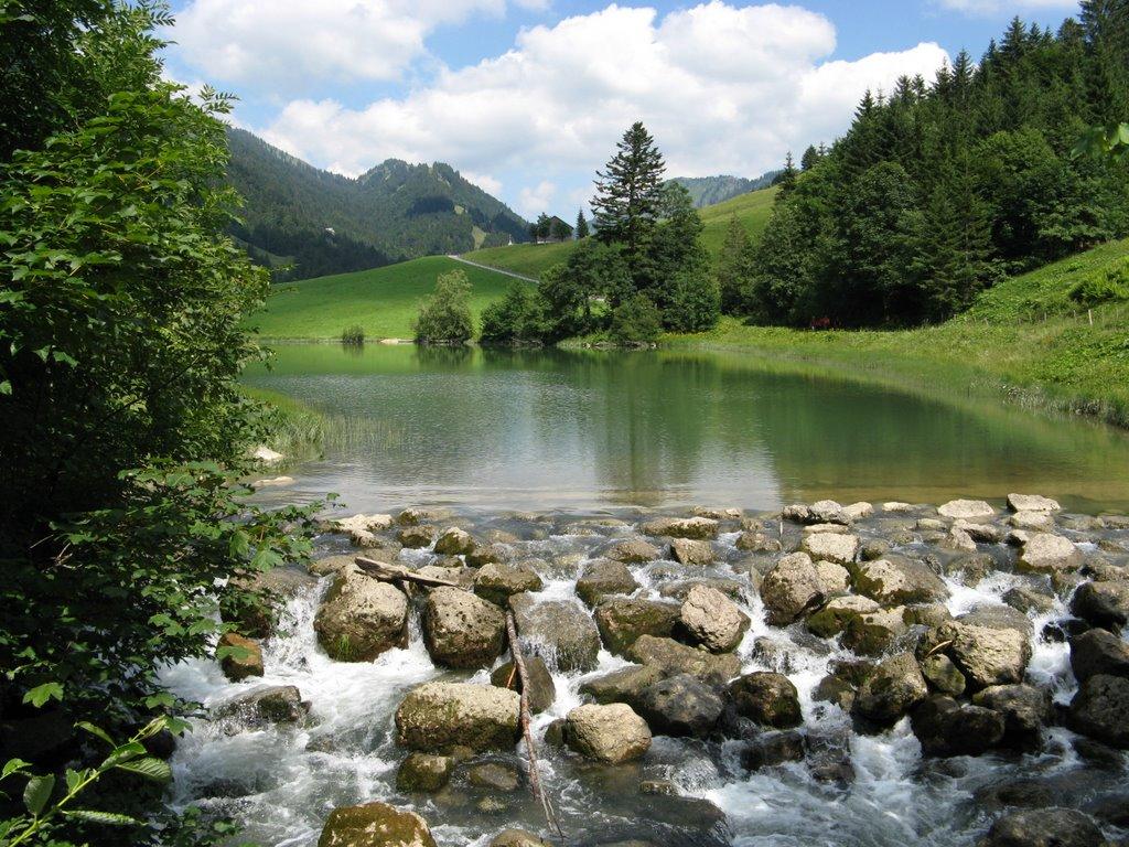 Lacul Lecknersee, Vorarlberg