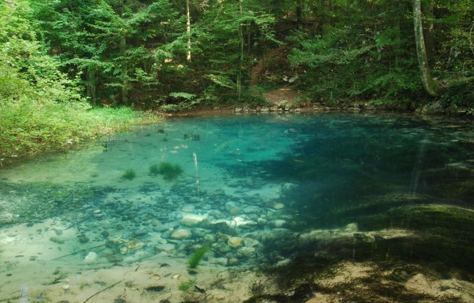 Lacul Ochiul Beiului, Parcul Naţional Cheile Nerei-BeuşniţaLacul Ochiul Beiului, Parcul Naţional Cheile Nerei-Beuşniţa