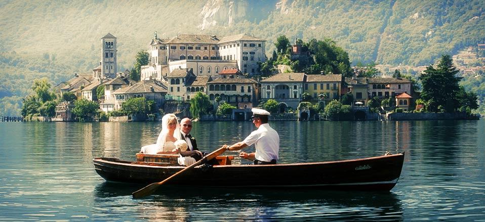 Lacul Orta este cadrul perfect pentru sesiunile foto
