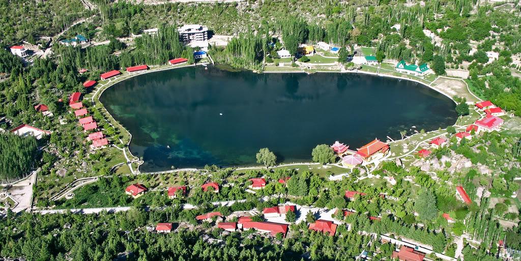 Lacul Shangri-La, Pakistan