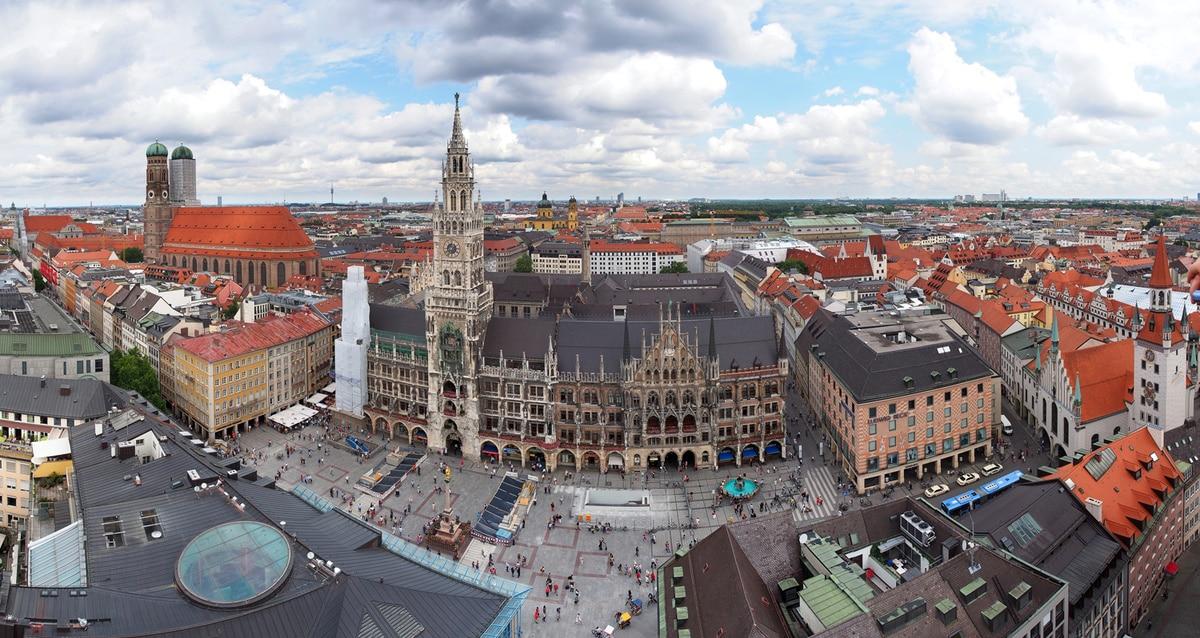 Marienplatz[ - Piața Centrală a orașului Munchen