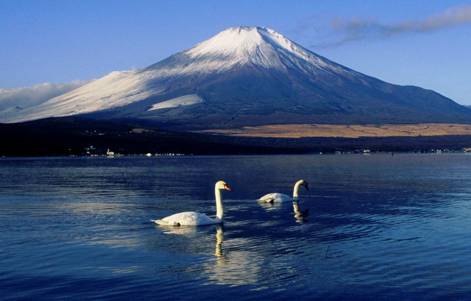 Muntele Fiji și Lacul Yamanaka