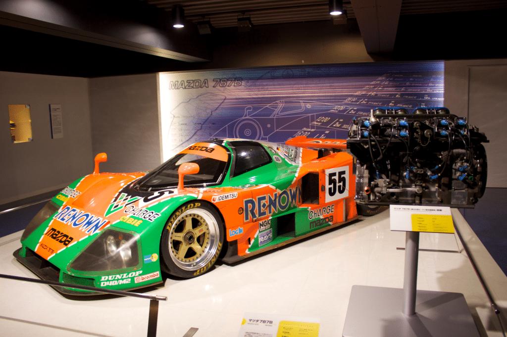 Muzeul Mazda și mașina cu care compania a câștigat cursa de 24 de ore de la Le Mans