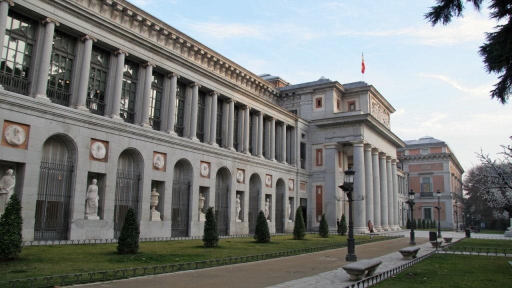 Muzeul Prado, unul dintre cele mai vizitate obiective turistice din oraşul Madrid