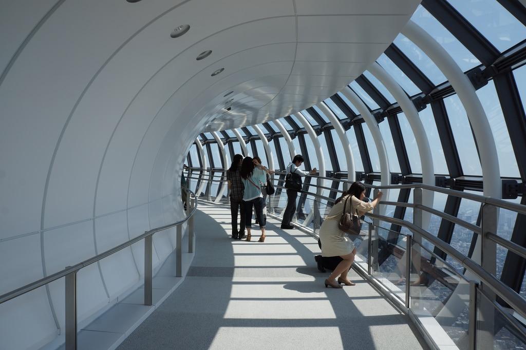 Observatorul din Skytree oferă imagini splendide