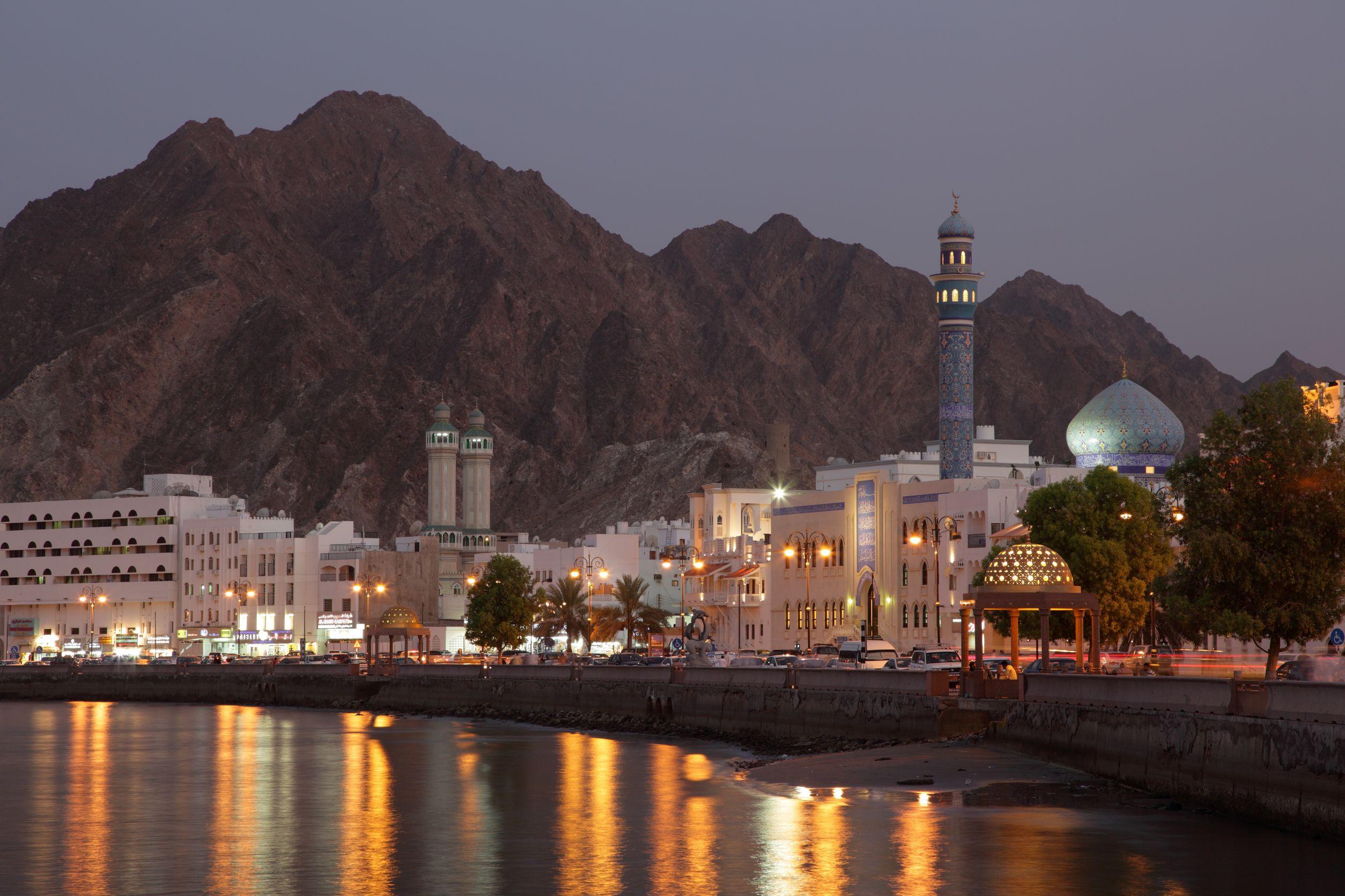 Oman noaptea