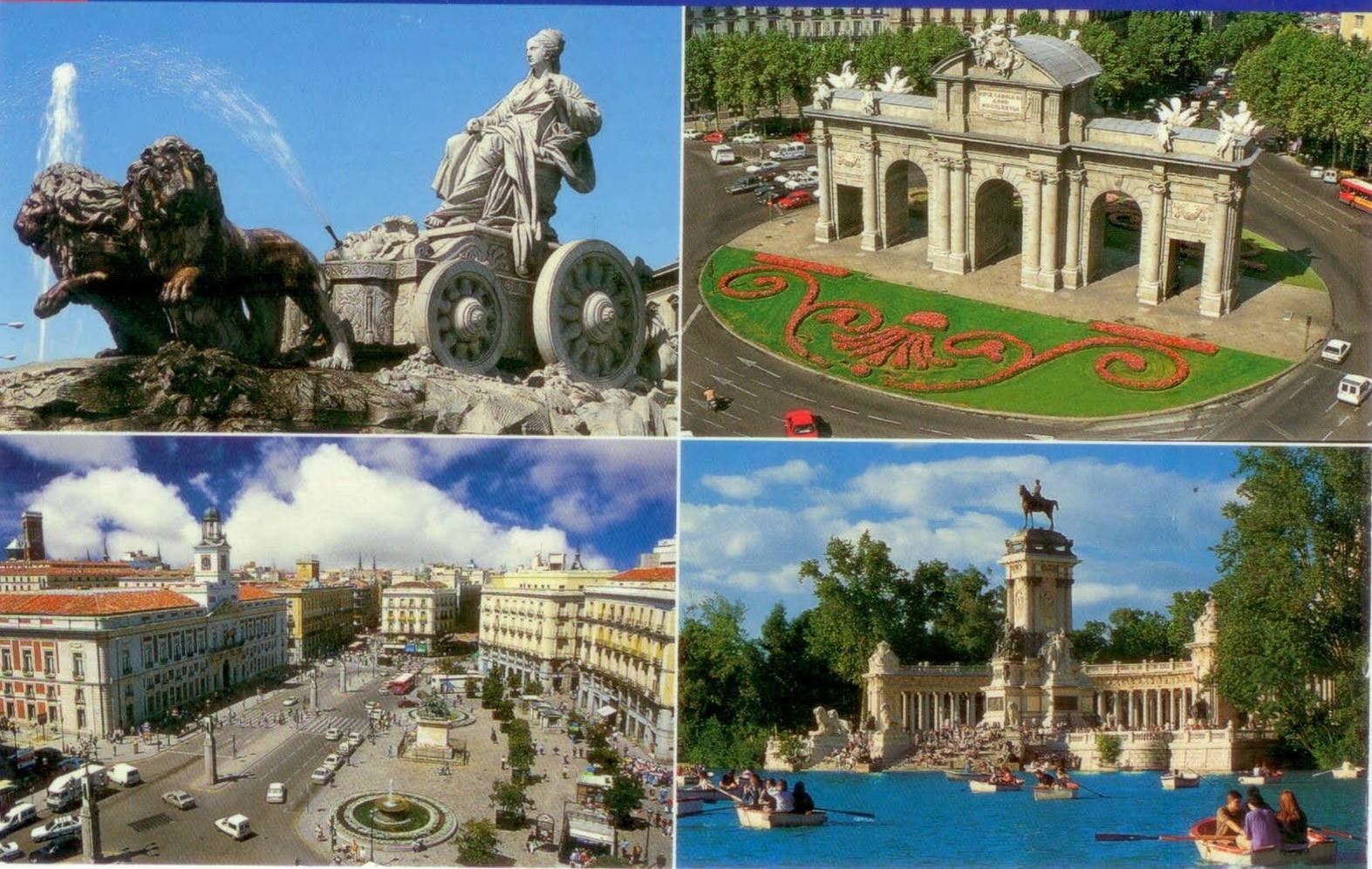 Oraşul Madrid, Spania