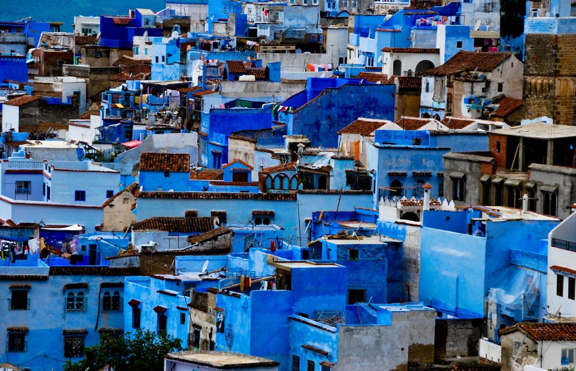Oraşul Chefchaouen, Oraşul albastru din Maroc