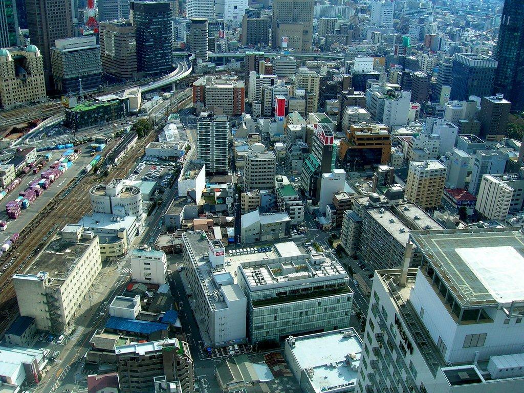 Osaka, o metropolă ce continuă să crească