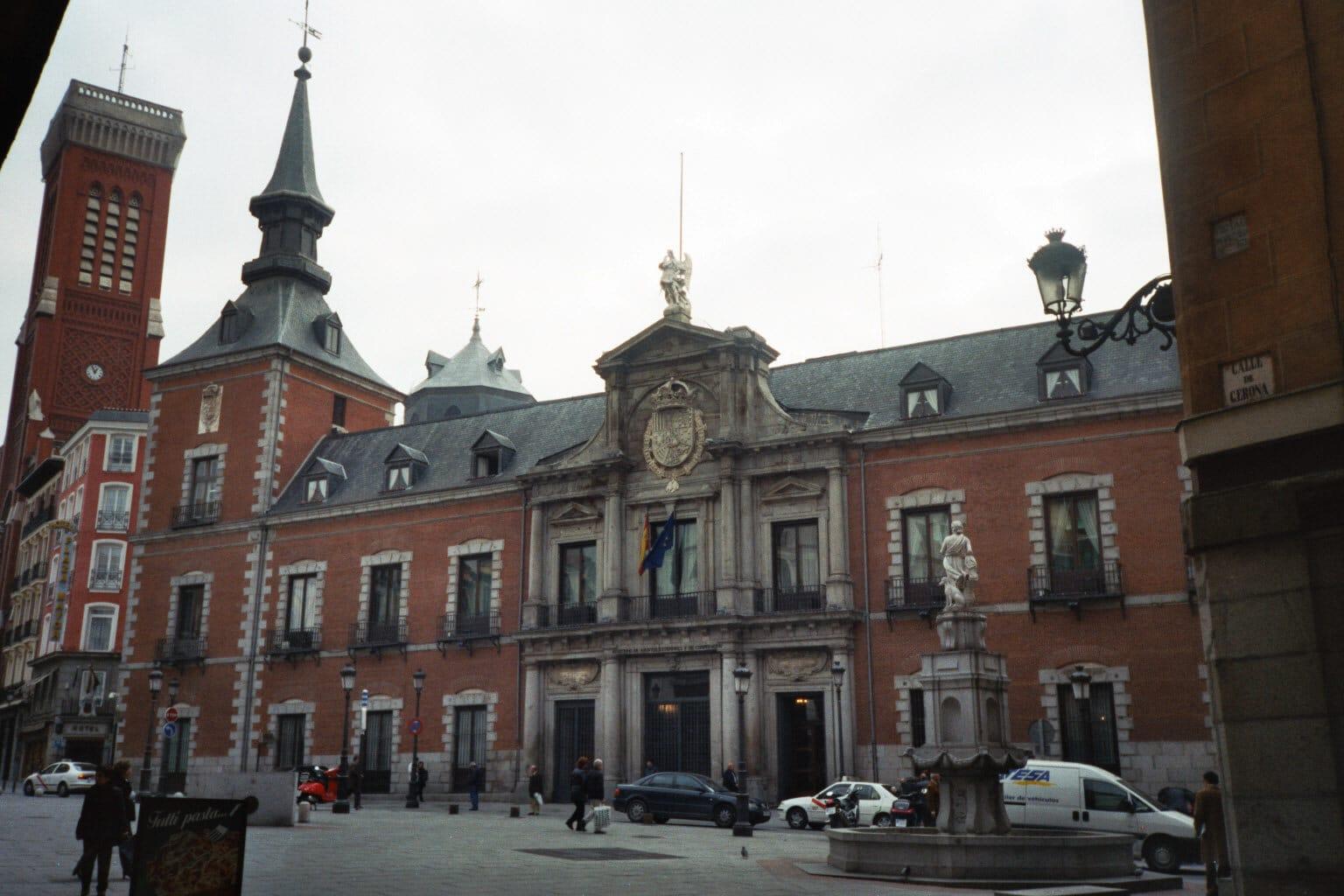 Palacio de Santa Cruz, sediul Ministerului Afacerilor Externe