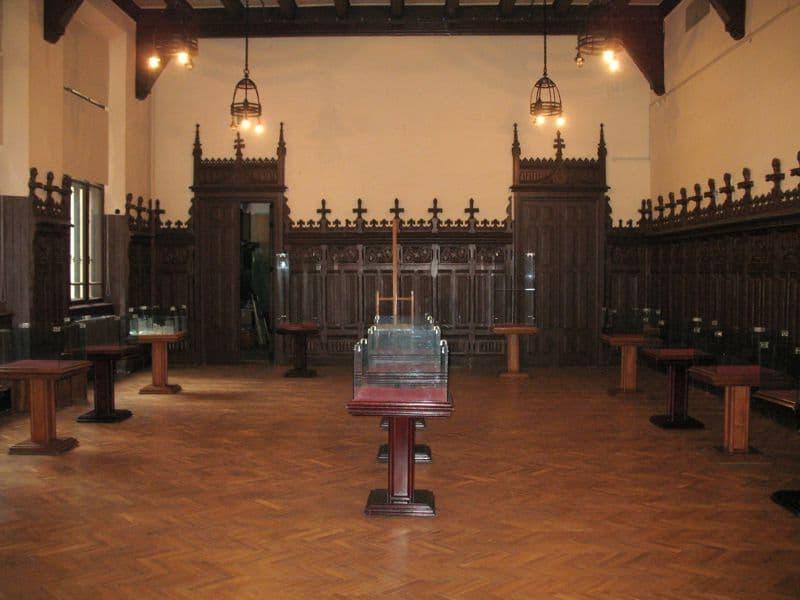 Palatul Culturii, interior
