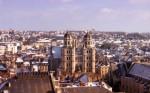 Panorama Dijonului, iarna