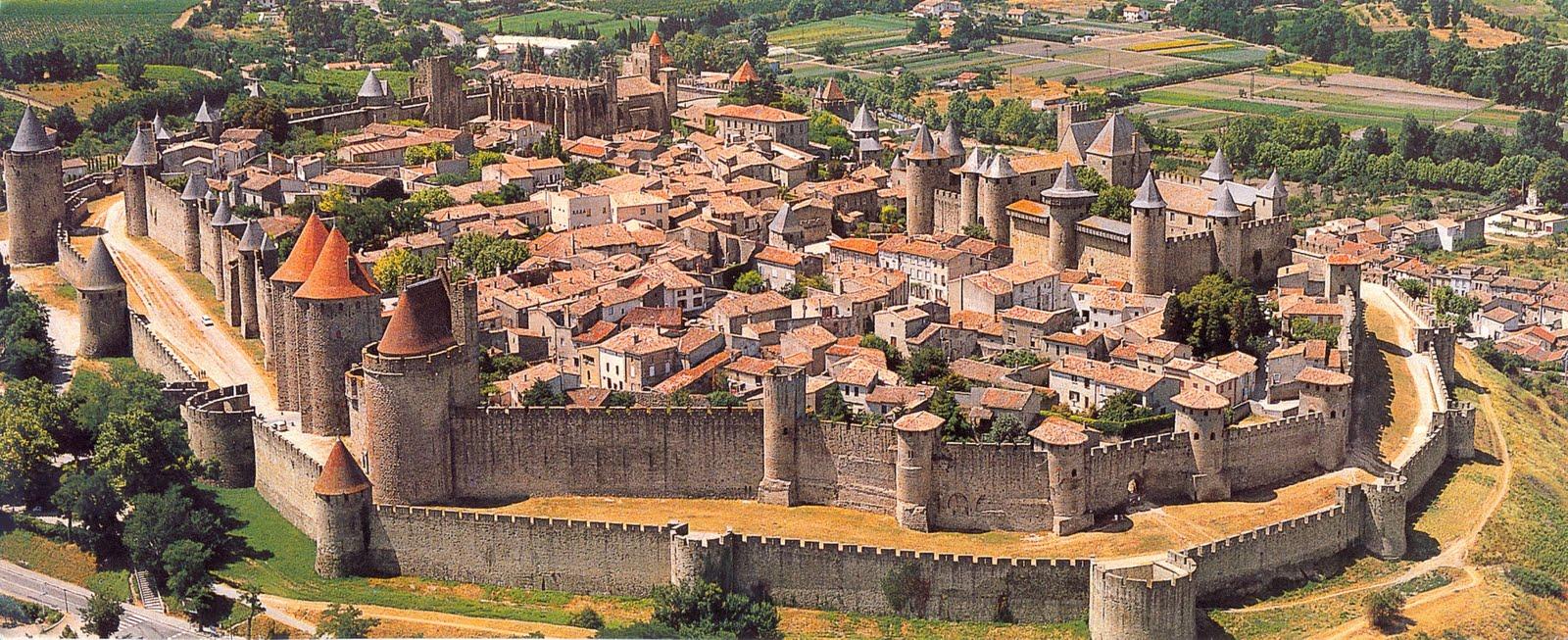 Panorama Orașului Carcassonne