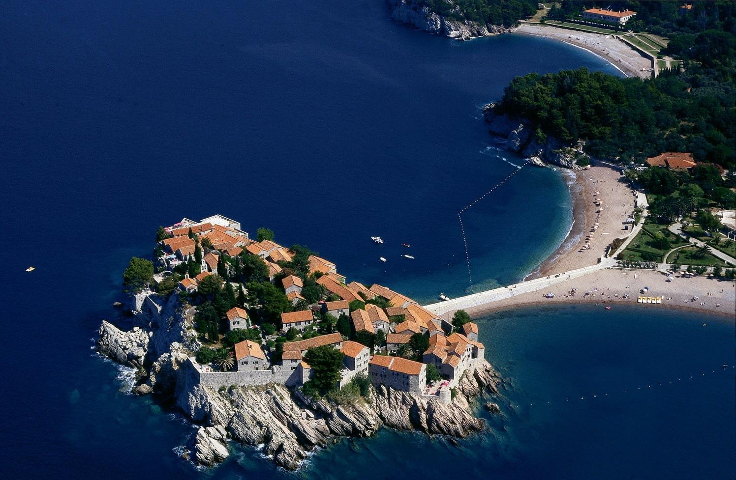 Panorama fostului sat de pescari