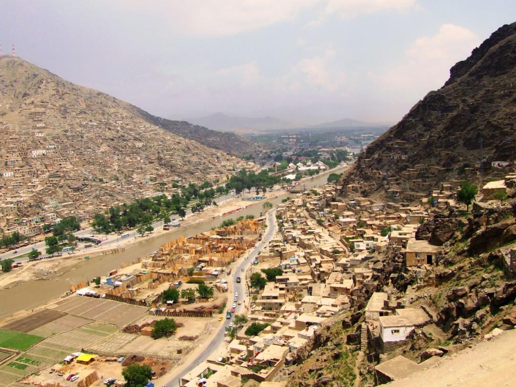 Partea săracă a orașului Kabul