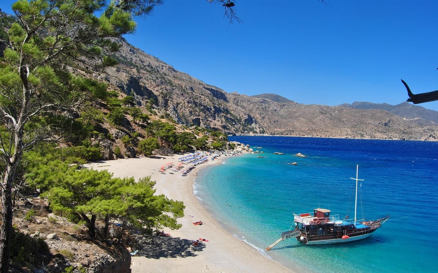 Peisajele din Creta sunt uimitoare