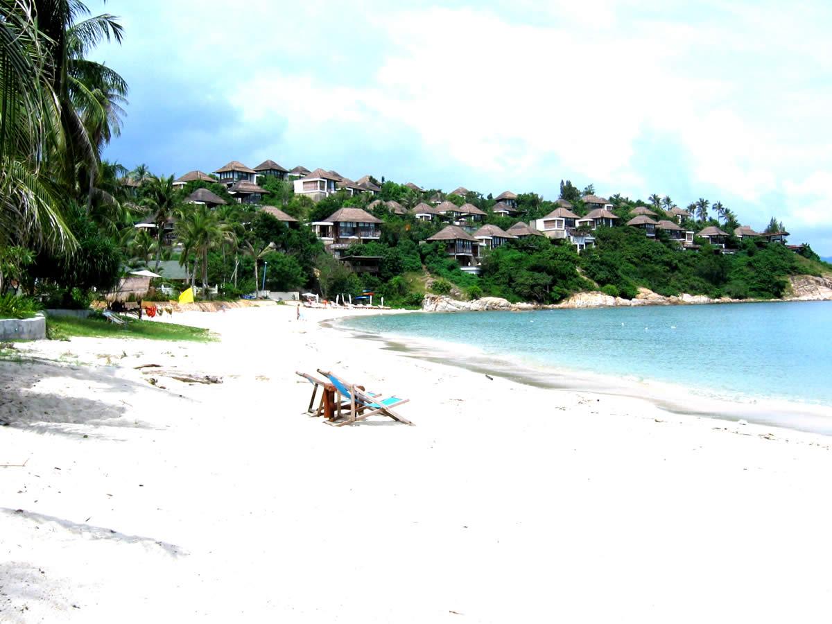 Plajă cu nisip alb, Ko Samui