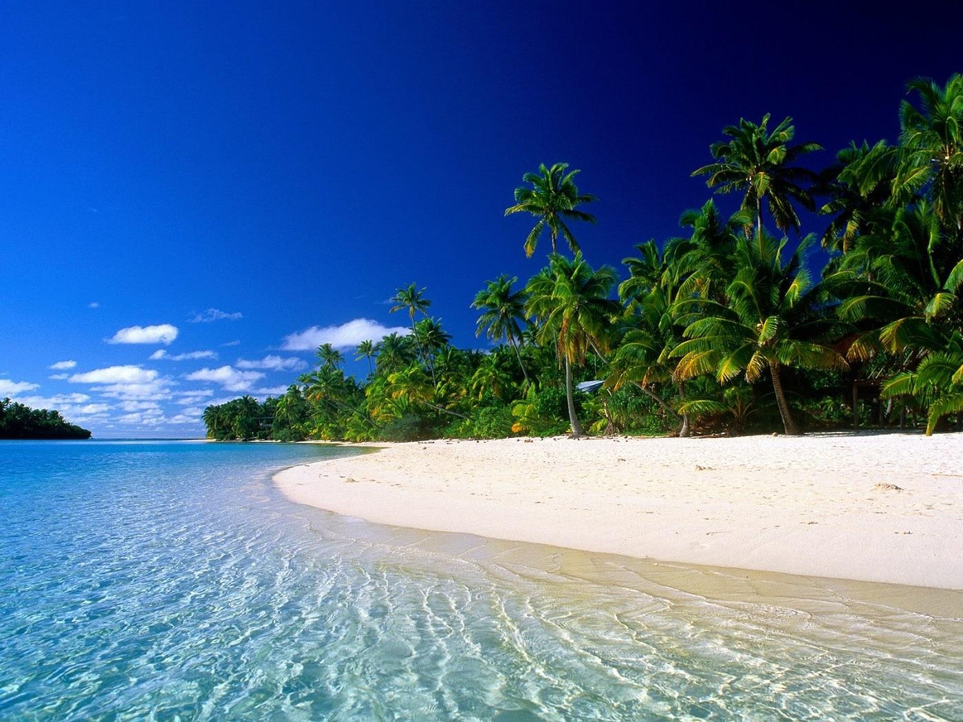 Plajele întinse din Fiji sunt un bun prilej de relaxare