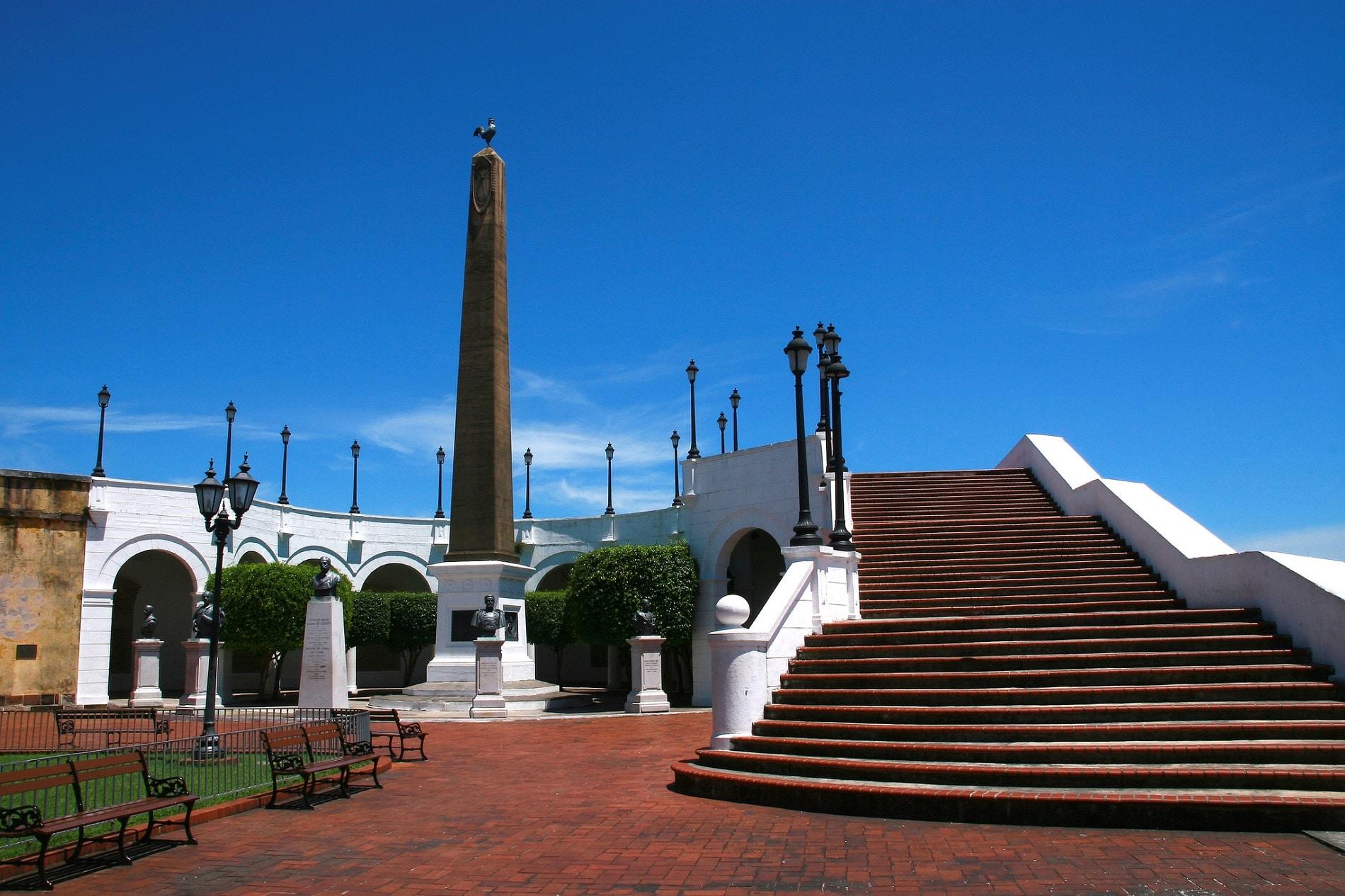 Plaza de Francia, atrage numeroși turiști în Panama City