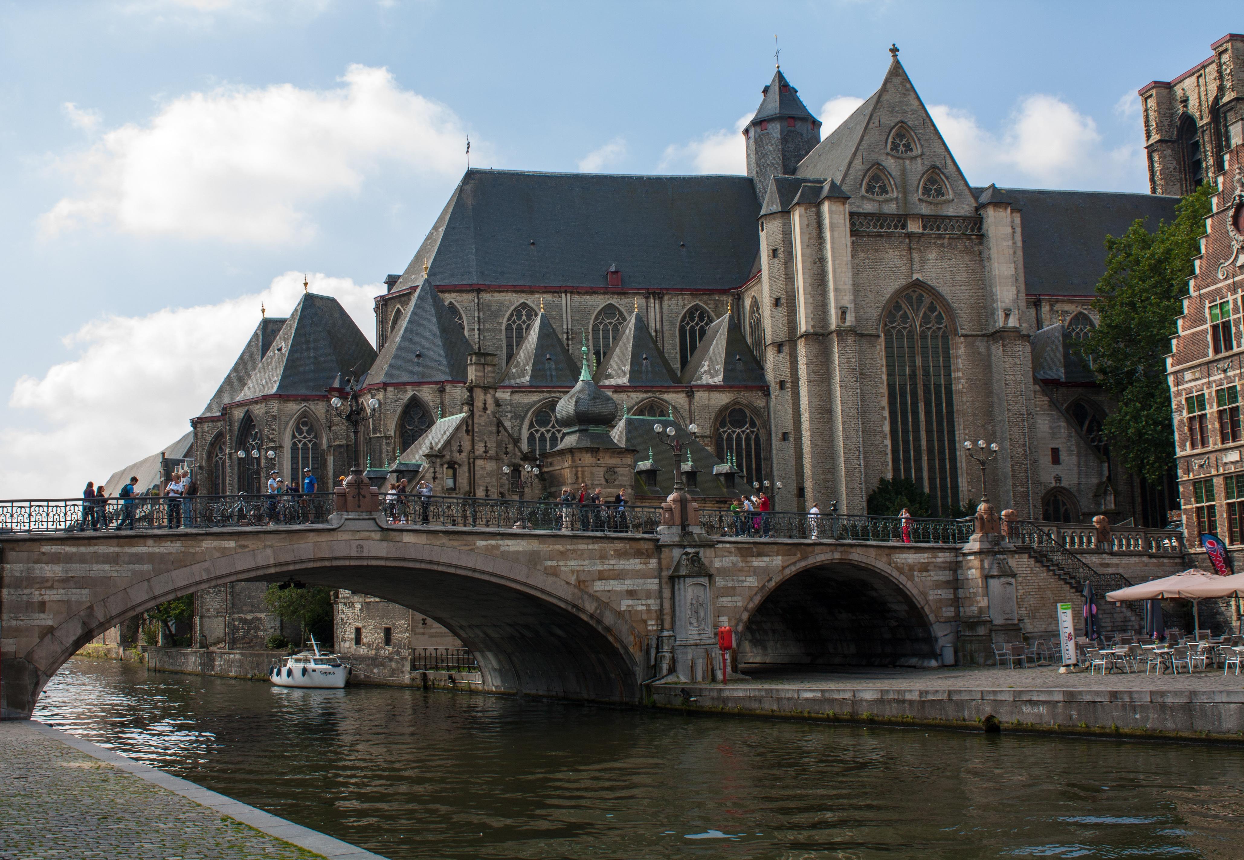 Podul Sf. Mihail din Ghent
