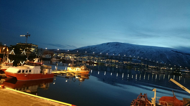 Portul din Tromso