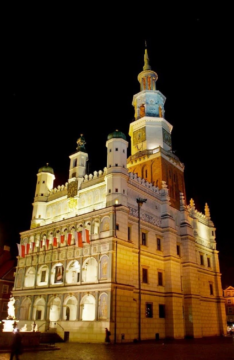 Primăria orașului Poznan a fost numită și Perla Renașterii datorită arhitecturii sale