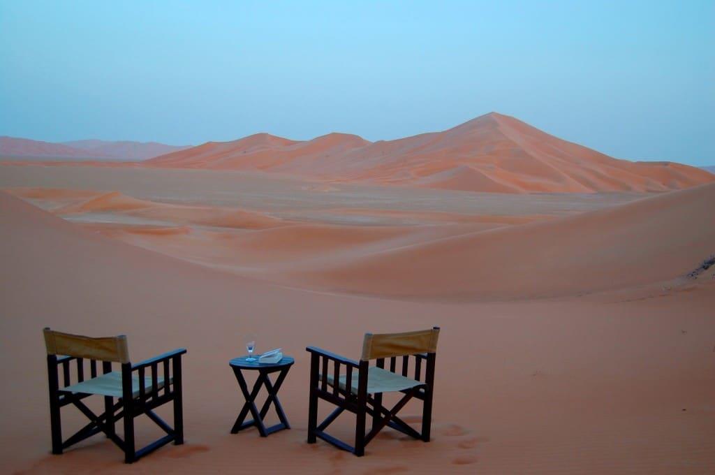 Puțin lux în mijlocul deșertului