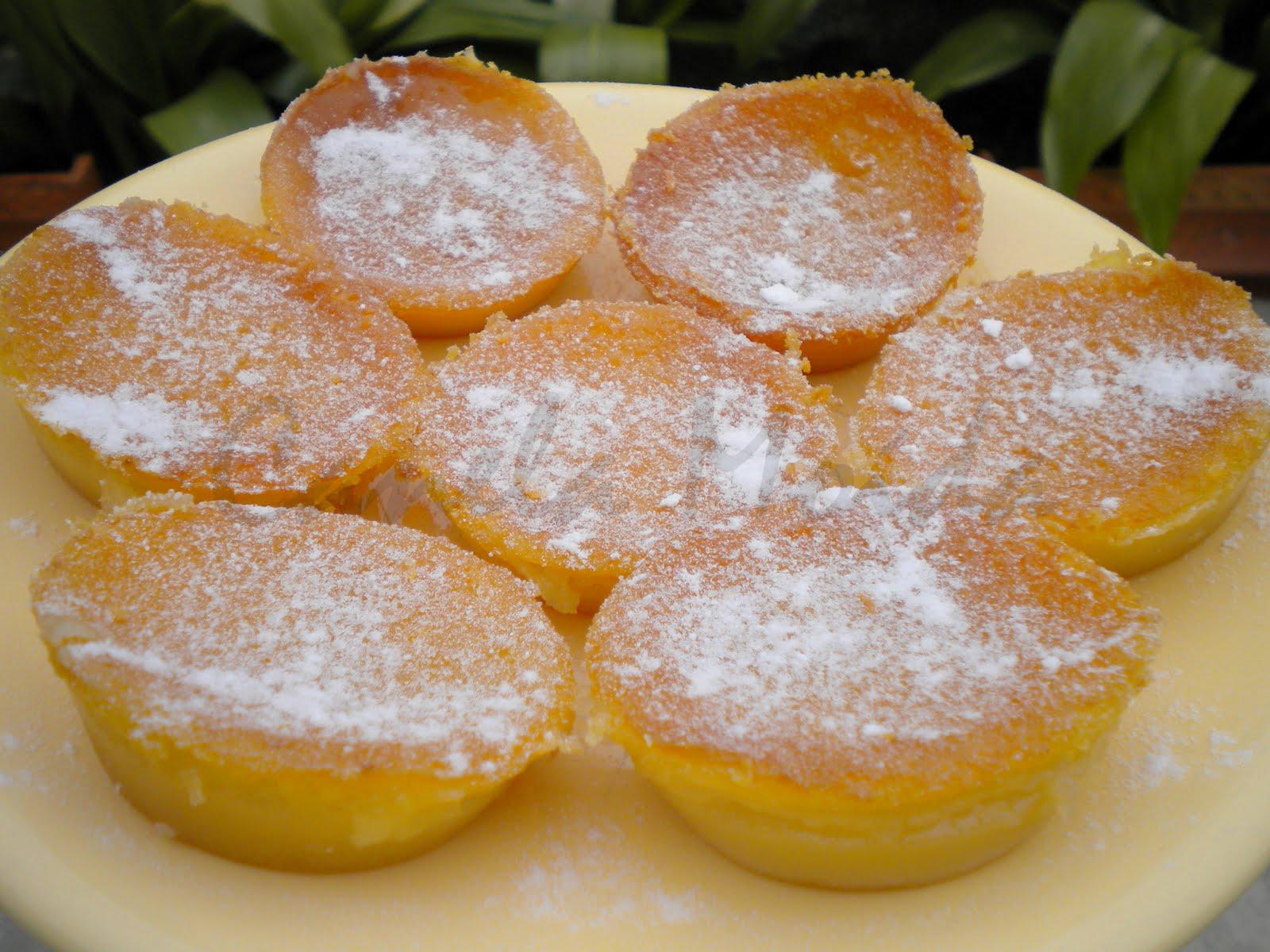Tradiționalele queijadas de Sintra - prăjiturele cu brânză și cocos