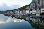 Râul Meuse crează un cadru liniștitor