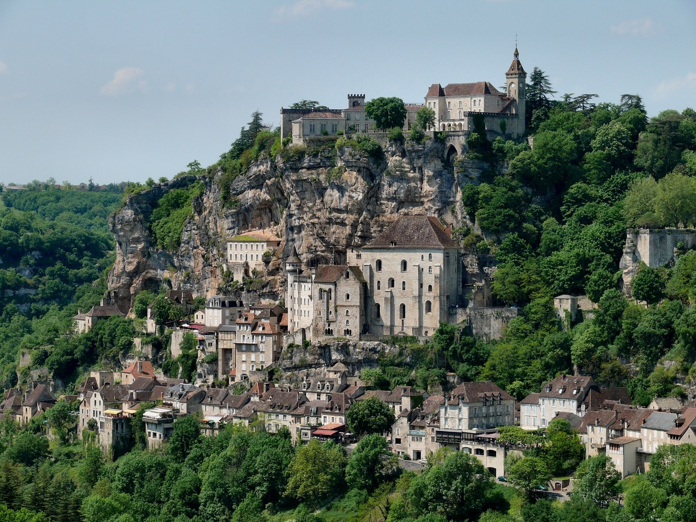 Rocamadour, din frumusețile Franței