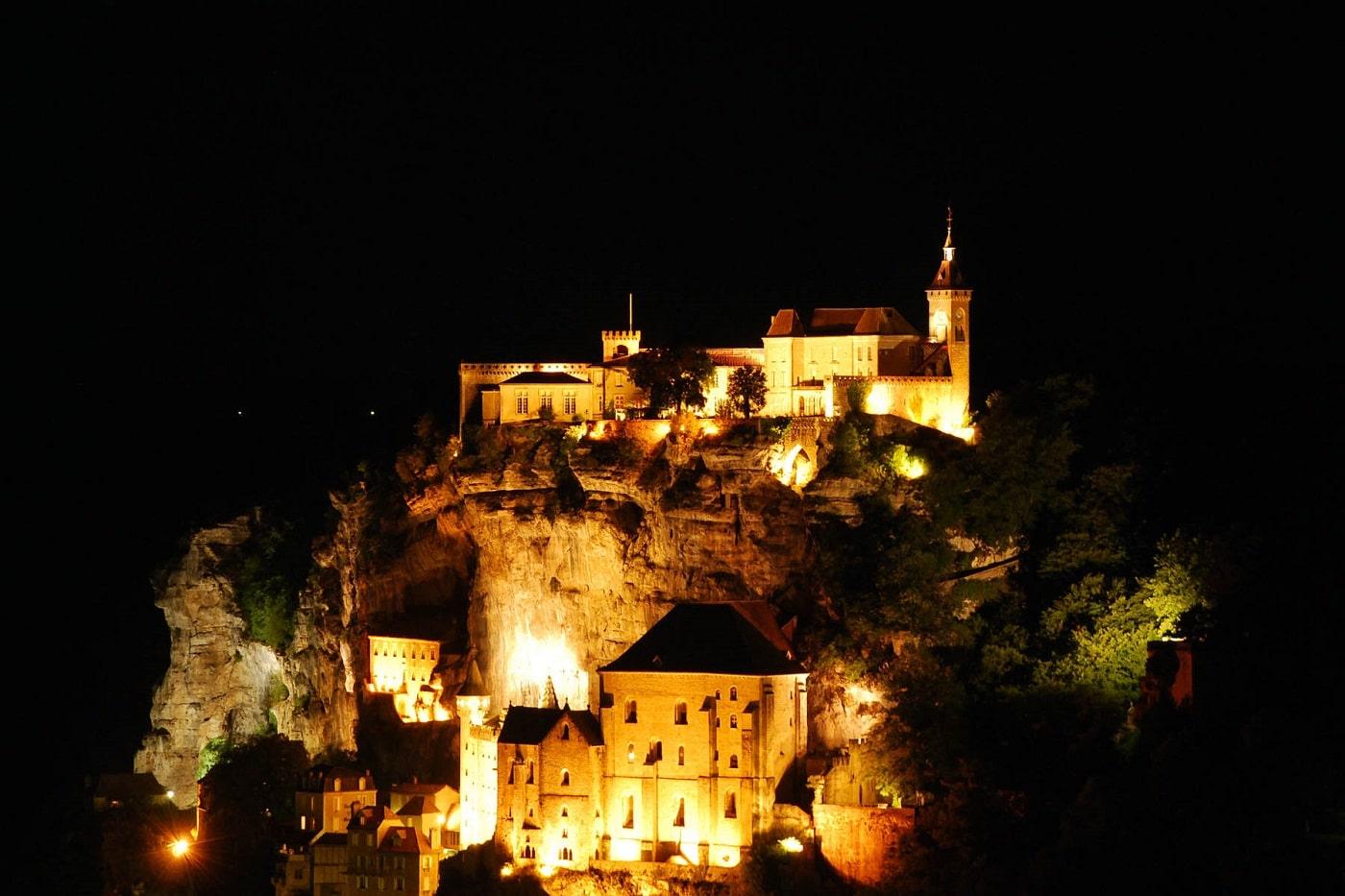 Rocamadour, noaptea