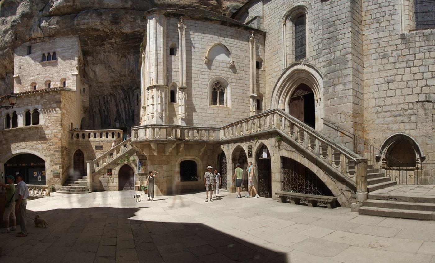Rocamadour, o valoroasă cetate medievală