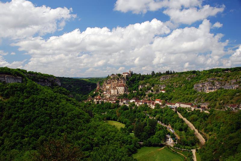 Rocamadour, un ansamblu de construcții impresionante